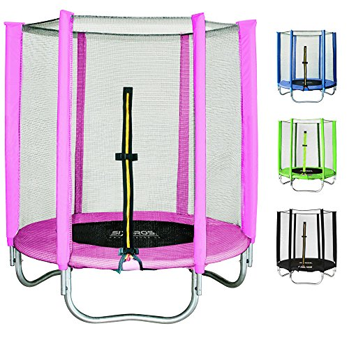achat sixbros sixjump 1 40 m trampoline de jardin rose t140 1534. Black Bedroom Furniture Sets. Home Design Ideas