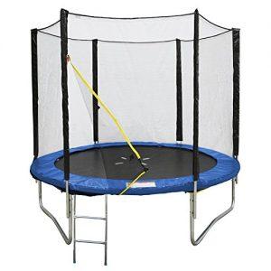 Trampoline-305cm-avec-filet-de-protection-et-son-chelle-0