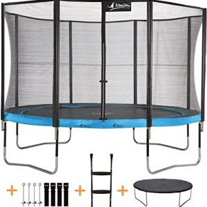 Kangui-Trampoline-de-jardin-365-cm-filet-de-scurit-chelle-bche-de-protection-kit-dancrage-PUNCHI-ATOLL-0