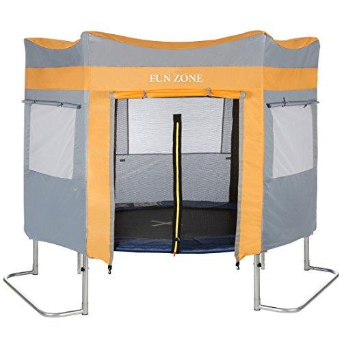 achat ultrasport f r tente de trampoline mixte bleu 430 cm. Black Bedroom Furniture Sets. Home Design Ideas