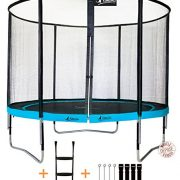 Kangui-Trampoline-de-jardin-rond-305-cm-filet-de-scurit-chelle-kit-dancrage-PUNCHI-ATOLL-300-0