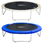 TecTake-Trampoline-de-jardin-set-complet-avec-filet-de-scurit-et-chelle-305-cm-10ft-TV-SD-et-de-tests-de-scurit-0-0