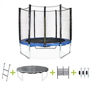 Alices-Garden-Trampoline-rond--250cm-filet-chelle-bche-de-protection-filet-de-rangement-pour-chaussures-kit-dancrage-Pluton-XXL-0