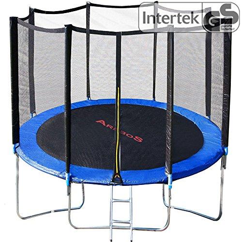Arebos-Trampoline-de-jardin-set-complet-avec-filet-de-scurit-et-chelle-244-cm-8ft-et-de-tests-de-scurit-par-Intertek-0
