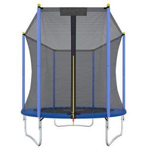 Ultrasport-Trampoline-de-jardin-Promo-trampoline-pour-enfant-set-complet-pour-trampoline-avec-tapis-de-saut-filet-de-scurit-barres-du-filet-rembourresrevtement-pour-les-bords-183-cm-0