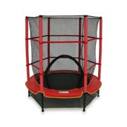 We-R-Sports-Trampoline-avec-filet-de-scurit-Enfant-Rouge-137-cm-0