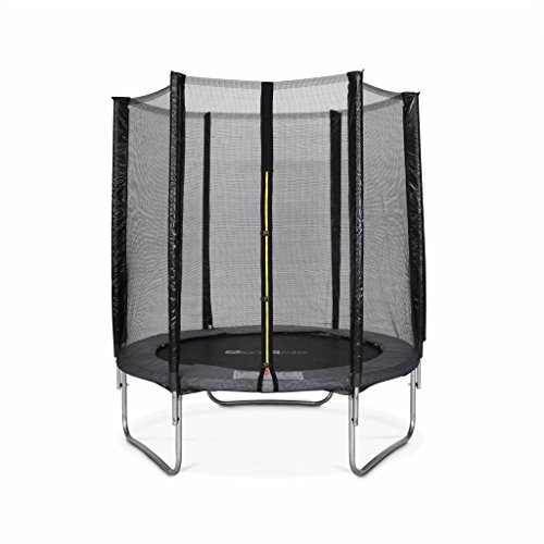 achat alice s garden trampoline rond 180cm gris avec son filet de. Black Bedroom Furniture Sets. Home Design Ideas
