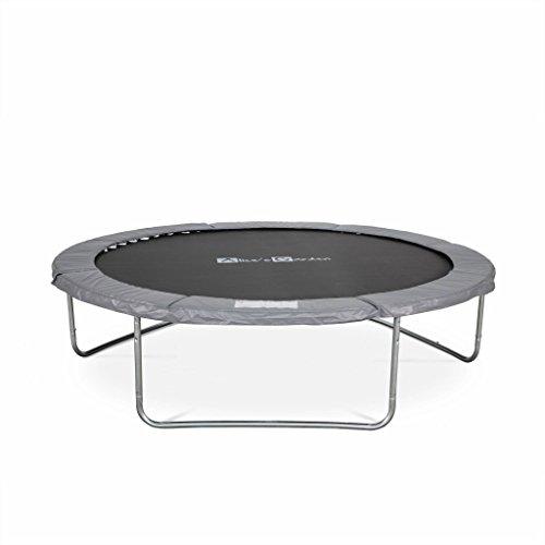 achat alice s garden trampoline rond 305cm gris avec son filet de. Black Bedroom Furniture Sets. Home Design Ideas