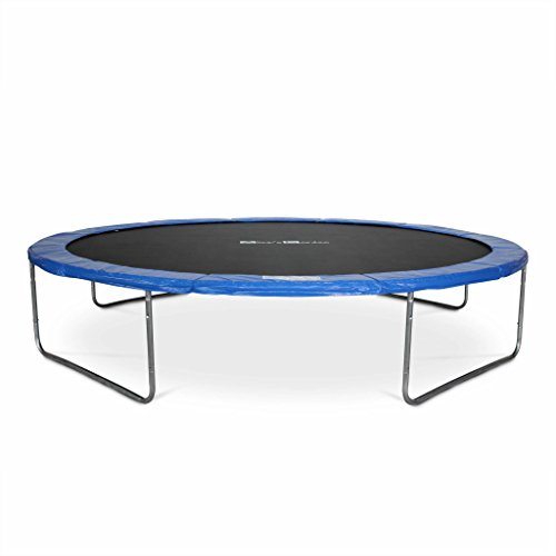 achat alice s garden trampoline rond 430cm bleu avec son filet de. Black Bedroom Furniture Sets. Home Design Ideas