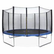 Alices-Garden-Trampoline-rond--430cm-bleu-avec-son-filet-de-protection-Vnus-Trampoline-de-jardin-430-cm-4m-Qualit-PRO-Normes-EU-0