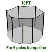 Greenbay-10FT-Filet-de-scurit-de-rechange-pour-trampoline-de-jardin-rsistant-aux-UV--305cm-6-barres-Filet-de-protection-seulement-Sans-armatures-ni-coussin-0