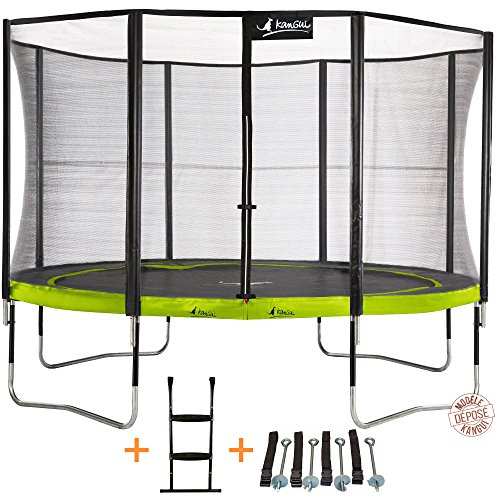 Kangui-Trampoline-de-jardin-rond-430-cm-filet-de-scurit-chelle-kit-dancrage-PUNCHI-ALOE-430-0