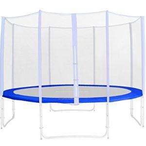 Tour-de-protection-de-rechange-bleu-pour-trampoline-de-jardin-185m-460m-PVC-RA-543-Taille-245-m-3L-0