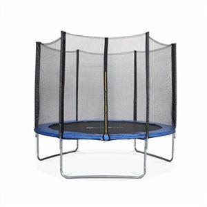 Alices-Garden-Trampoline-Rond--305cm-Bleu-avec-Son-Filet-de-Protection-Mars-Trampoline-de-Jardin-3m-300cm-Qualit-Pro-Normes-EU-0