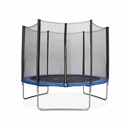 Alices-Garden-Trampoline-Rond–305cm-Bleu-avec-Son-Filet-de-Protection-Mars-Trampoline-de-Jardin-3m-300cm-Qualit-Pro-Normes-EU-0