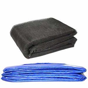 Greenbay-Coussin-de-protection-pour-trampoline-avec-filet-de-scurit-autour-de-Enceinte-avec-6-manches-10FT-0