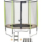 Kangui-Trampoline-de-jardin-244-cm-filet-de-scurit-chelle-kit-dancrage-JUMPI-ZEN-250-0