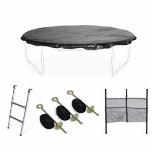Alices-Garden-Pack-Accessoires-pour-Trampoline--305cm-Mars-chelle-bche-de-Protection-Filet-de-Rangement-pour-Chaussures-et-kit-dancrage-0
