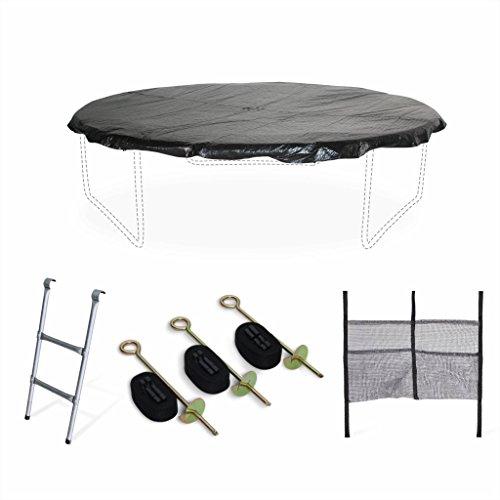 Alices-Garden-Pack-Accessoires-pour-Trampoline–305cm-Mars-chelle-bche-de-Protection-Filet-de-Rangement-pour-Chaussures-et-kit-dancrage-0