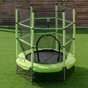 Blitzzauber24-Trampoline-de-Jardin-Trampoline-Jump-Enfant-Trampoline-Extrieur-avec-Filet-de-Scurit-0-0
