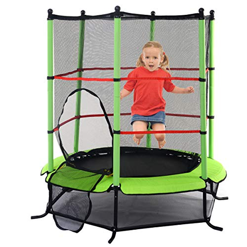Blitzzauber24-Trampoline-de-Jardin-Trampoline-Jump-Enfant-Trampoline-Extrieur-avec-Filet-de-Scurit-0