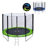 Happy-Garden-Pack-Premium-Trampoline-rversible-180cm-Bleu-et-Vert-Cairns-avec-Filet-de-Protection-chelle-bche-et-kit-dancrage-0-0