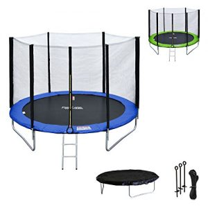 Happy-Garden-Pack-Premium-Trampoline-rversible-180cm-Bleu-et-Vert-Cairns-avec-Filet-de-Protection-chelle-bche-et-kit-dancrage-0