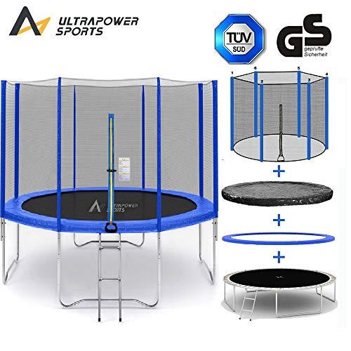 ULTRAPOWER-SPORTS-Trampoline–366cm-8barres-Pluton-avec-Son-Filet-de-Protection-Trampoline-de-Jardin-25m-Qualit-Pro-Normes-EU-Blau-0