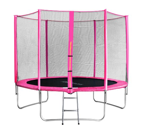 SixBros-Sixjump-305-M-Trampoline-de-Jardin-Rose-Filet-de-scurit-chelle-Housse-de-Protection-TP3051694-0