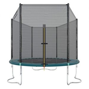 Ultrasport-Wave-Trampoline-de-jardin-avec-filet-de-scurit-Mixte-Adulte-Vert-251-cm-0