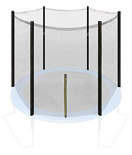 Filet-de-scurit-Ultrasport-pour-trampoline-de-jardin-Modles-de-filet-de-scurit-pour-trampolines-avec-fermeture-clair-rsistant-aux-UV-rsistant-180-cm-0