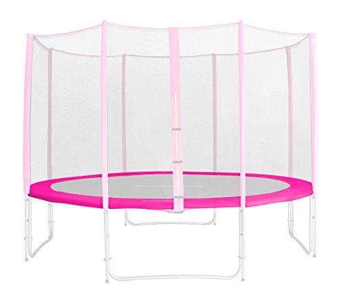 SixBros-Tour-de-Protection-de-Rechange-Rose-pour-Trampoline-de-Jardin-185m-460m-PVC-RA-1956-0