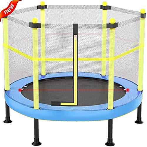 Trampoline-De-Jardin-Pour-Enfants-Avec-Filet-De-Scurit-Lit-De-Rebond-De-Divertissement-De-Remise-En-Forme-Intrieure-De-Trampoline-Dintrieur-Charge-Du-Lit-De-Ressort-100-KgBleu120cm101cm-0