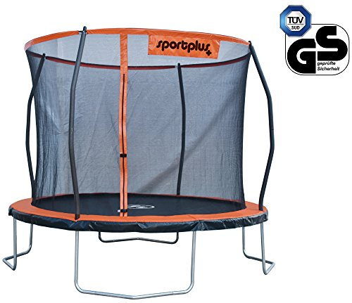 SportPlus-Trampoline-de-Jardin-Homologu-Tv-GS-Surface-de-Sauts-de-haute-qualit-Construction-brevete-Sechage-ultra-rapide-Filet-de-scurit-Pliage-rapide-0